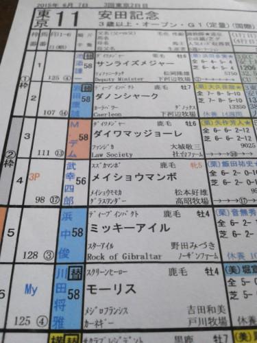 「栄光の競馬新聞」の使い方2