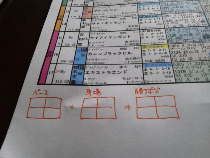 「栄光の競馬新聞」の使い方5