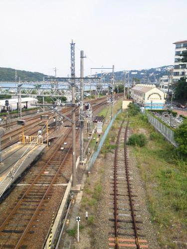 近鉄鳥羽駅からの風景