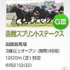 【予想追記】函館スプリントS2015予想:出走馬の前走チェックコメントと「勝ちポジ」予想