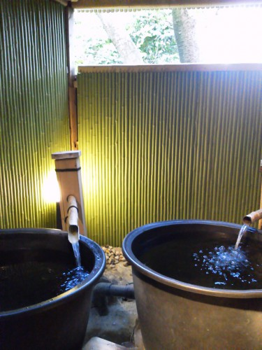 鳥羽の温泉宿「戸田家」のお風呂3