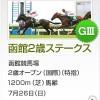 【予想追記】函館2歳S2015予想:出走馬の前走チェックコメントと「勝ちポジ」予想