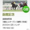 【予想追記】函館記念2015予想:出走馬の前走チェックコメントと「勝ちポジ」予想