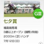 七夕賞2015のレース回顧と次走以降の注目馬と、次走で2000m戦を使ってきたら注目の馬