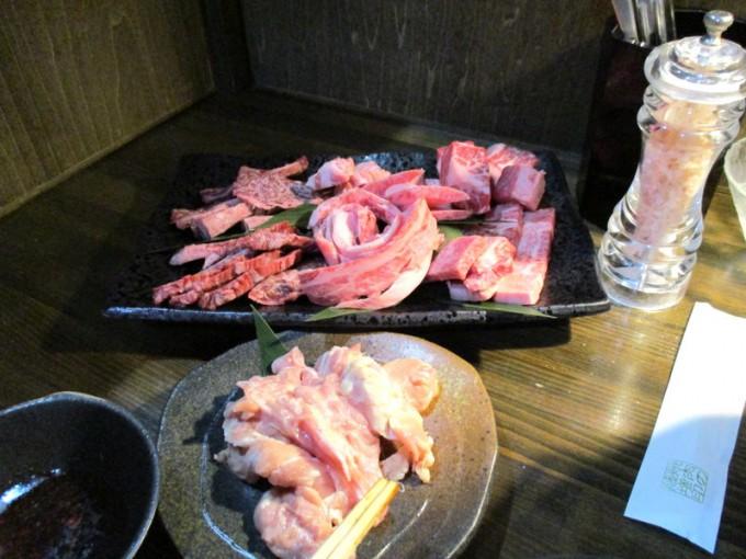 焼肉の藤増の特上肉