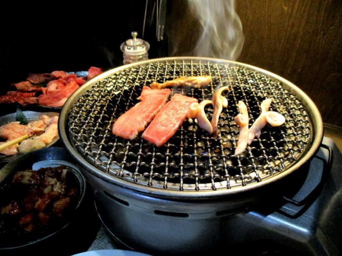 焼肉の藤増の高級カルビ
