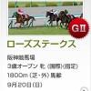 【予想追記】ローズS2015予想:出走馬の前走チェックコメントと「勝ちポジ」予想
