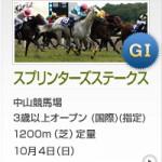 スプリンターズS2015のレース回顧と、勝ち馬を除けば日本のスプリンターでは能力No.1の馬