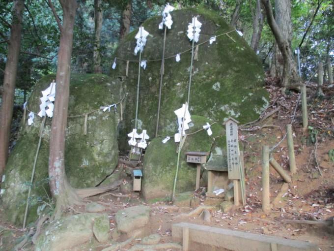 須我神社の夫婦岩