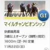 【予想追記】マイルチャンピオンシップ2015予想:出走馬の前走チェックコメントと「勝ちポジ」予想