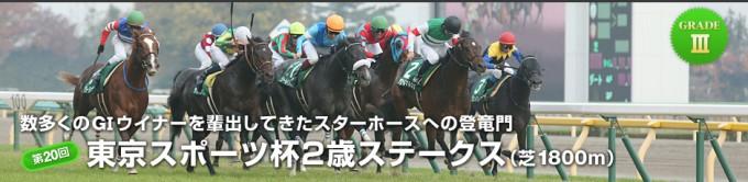 2015年東京スポーツ杯2歳S