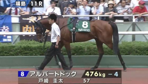 七夕賞2016のアルバートドック